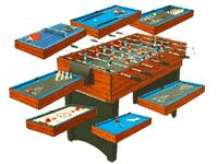 Tables Multi Jeux