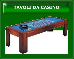 Tavoli da Casinò